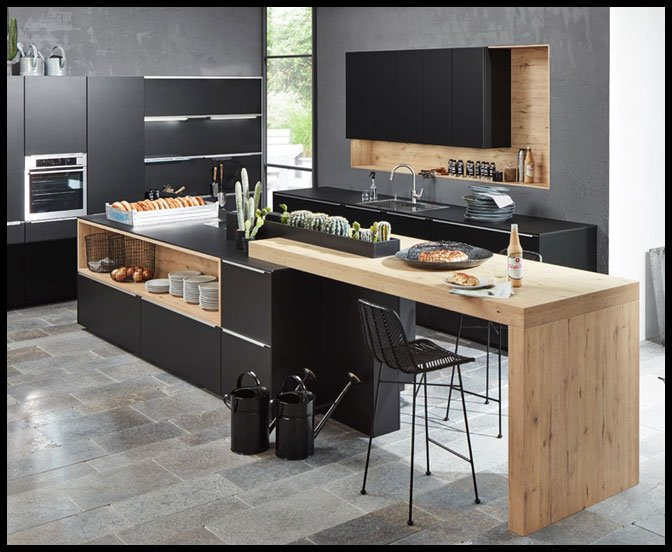 industrie look kuche perfect with industrie look kuche industrie look kuche with industrie. Black Bedroom Furniture Sets. Home Design Ideas
