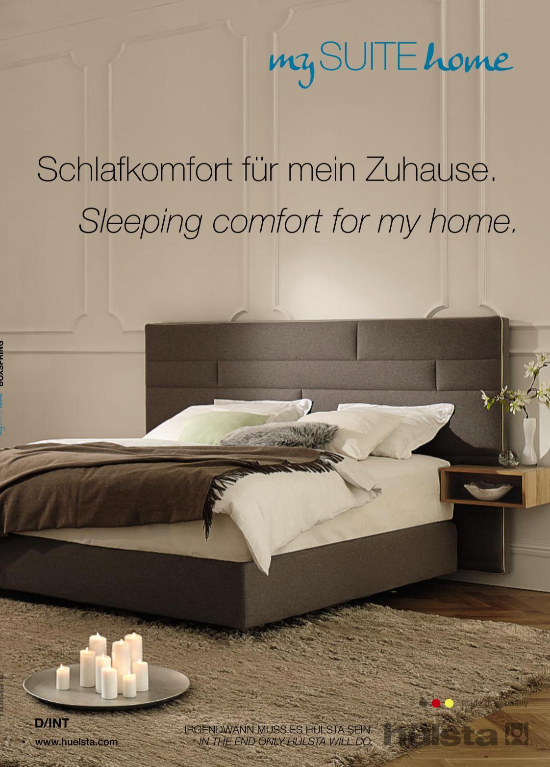 Zurbrüggen Katalog Hülsta My Suite Home