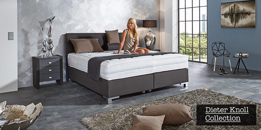 boxspringbett zurbr. Black Bedroom Furniture Sets. Home Design Ideas