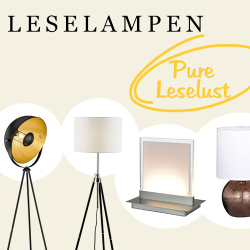 Leselampen - pure Leselust