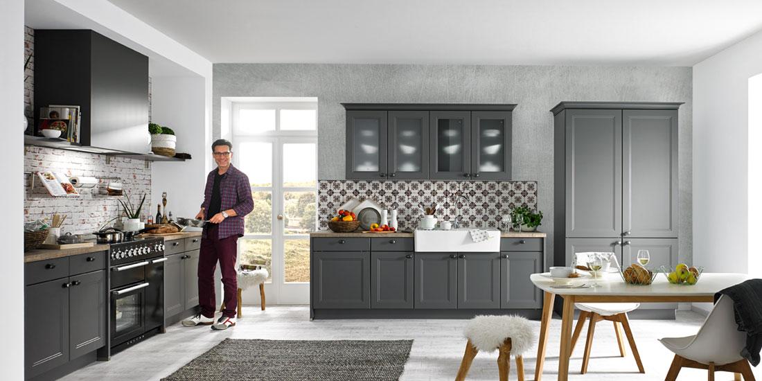 dk610 quarzgrau zurbr. Black Bedroom Furniture Sets. Home Design Ideas