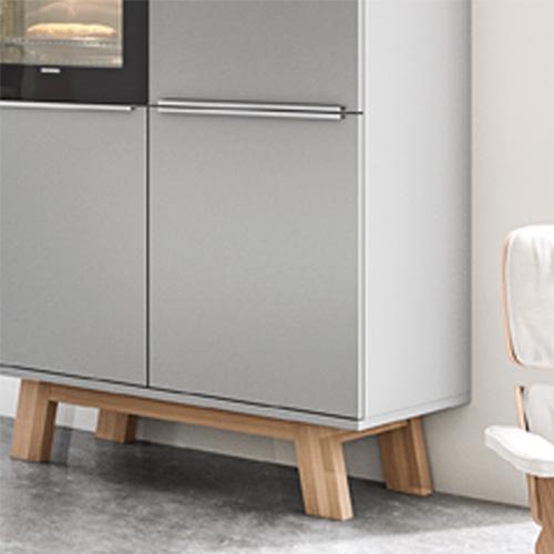 dk405 weiss papyrusgrau zurbr. Black Bedroom Furniture Sets. Home Design Ideas