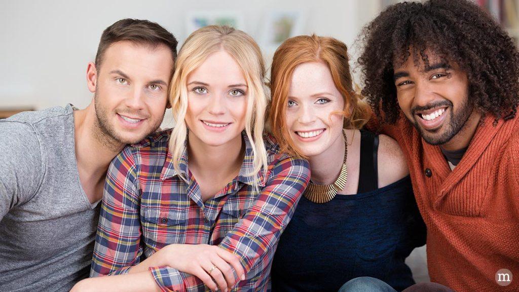 V.l.n.r.: Roland , Vicky , Nadja und Gerrit