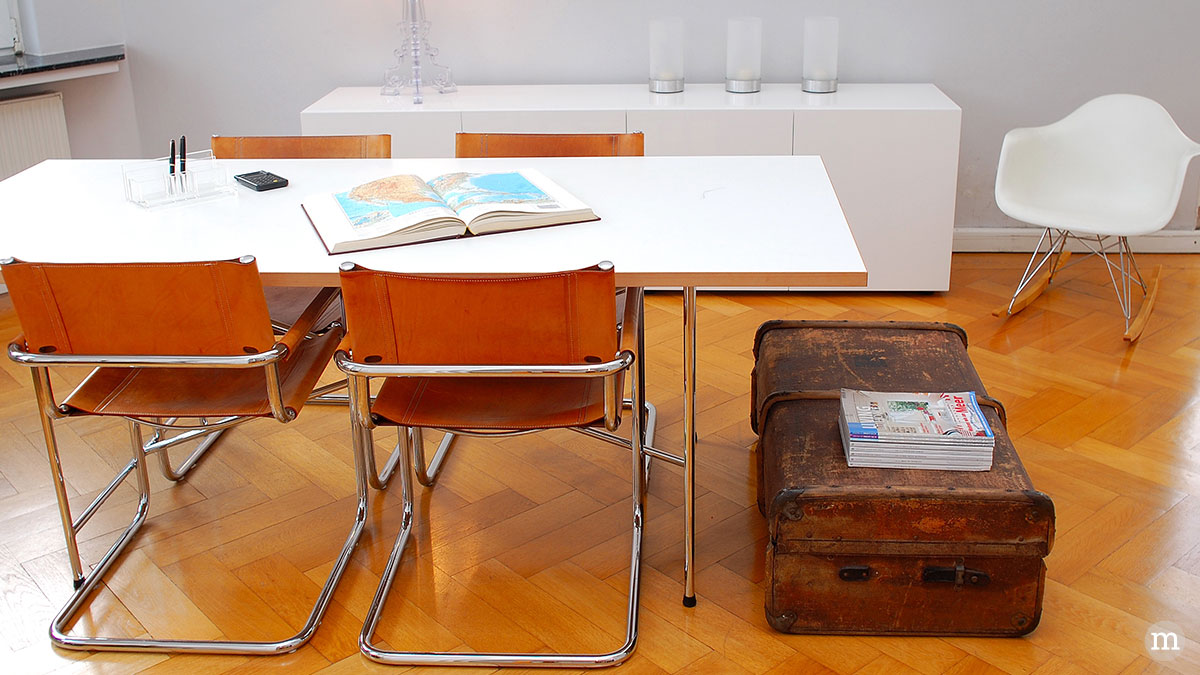 Plastic Armchair RAR Schaukelstuhl, Design: Charles Eames