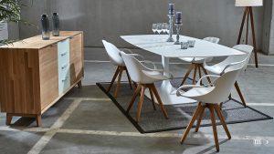 Modernes Möbeldesign inspiriert von Eero Saarinen