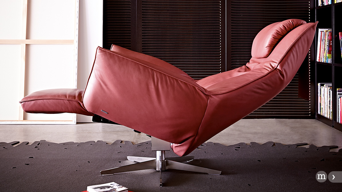 Relaxmöbel von KOINOR – Relaxsliege SAFIRA, Design: Tamara Härty