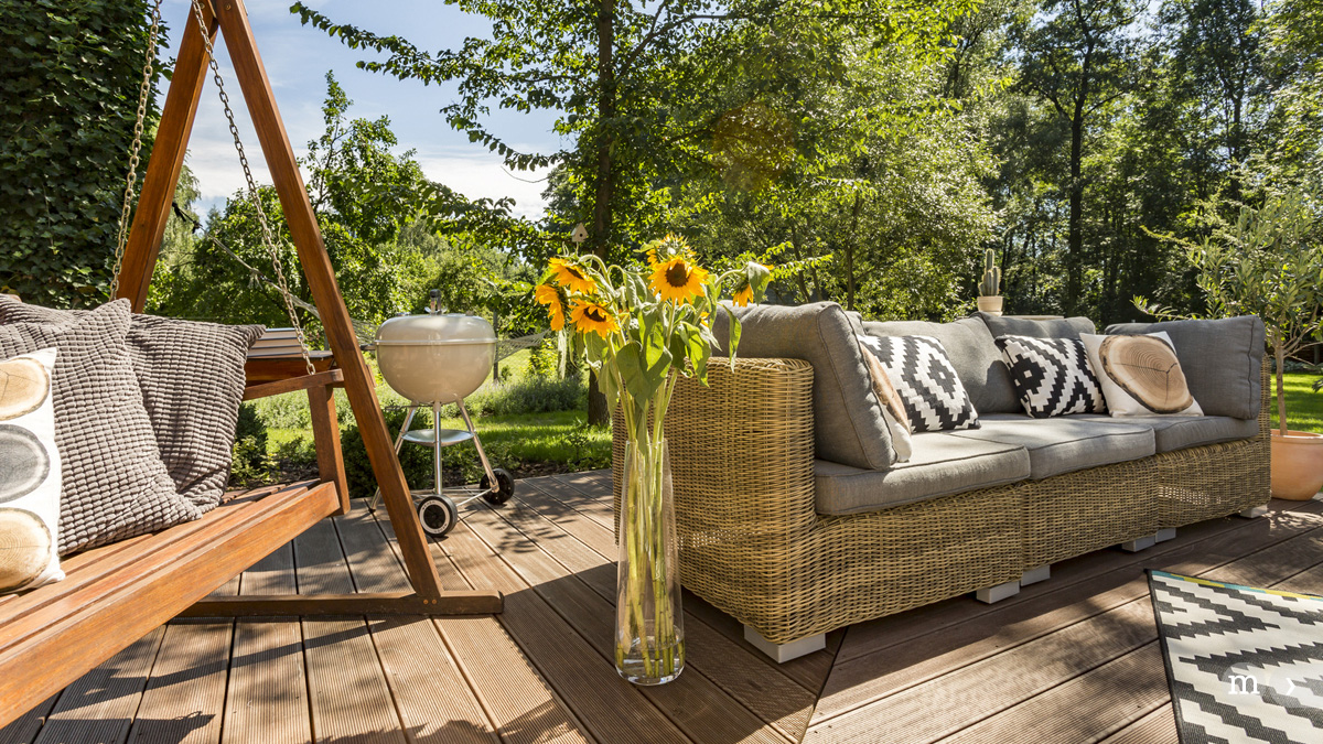 Die Terrasse – Lieblingsplatz im Freien