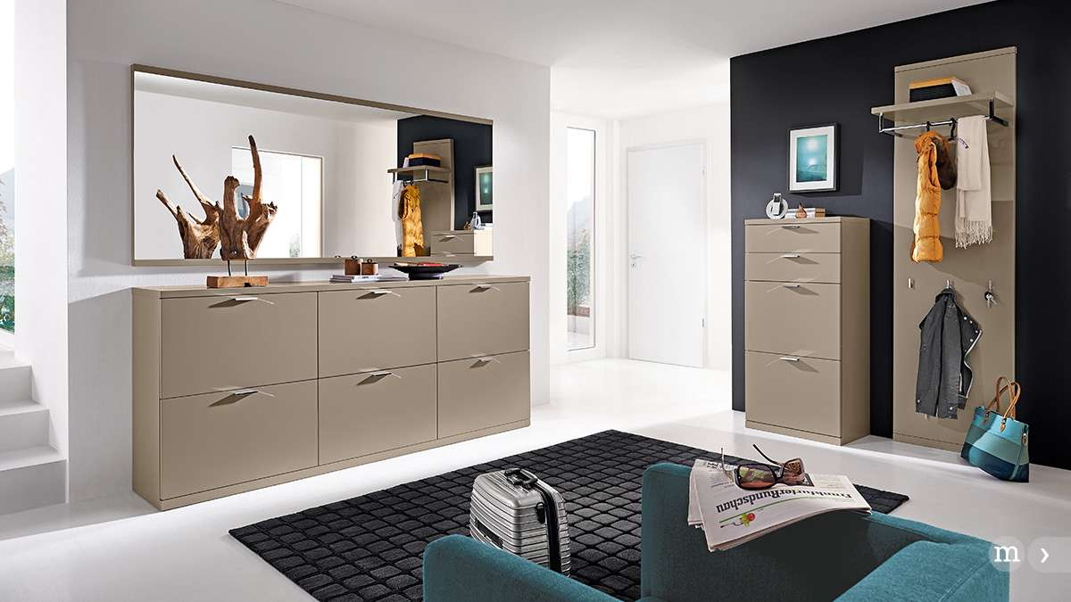 flur gestalten modern. Black Bedroom Furniture Sets. Home Design Ideas