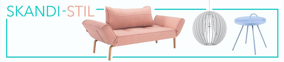 Der Skandi-Stil: modern, funktional und gemütlich. Jetzt online shoppen!