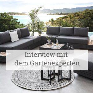 Interview mit dem Gartenexperten