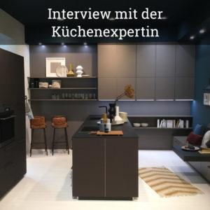 Interview mit der Küchenexpertin – Treffen mit dem Experten