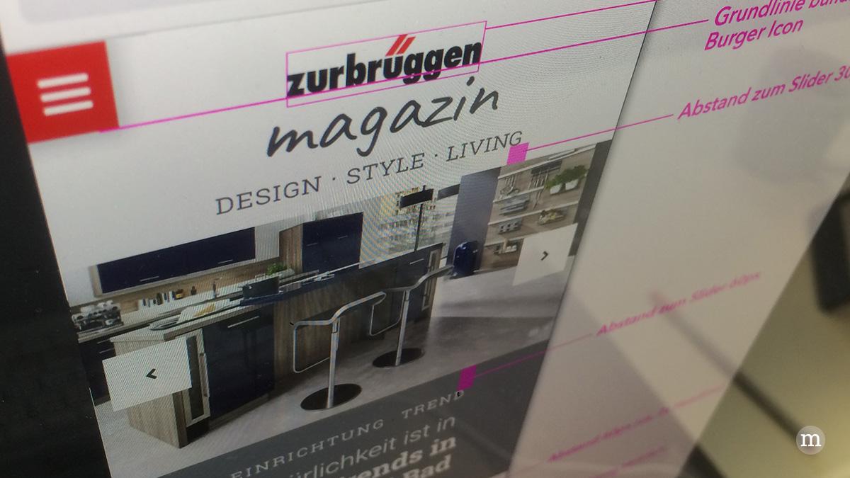 Das »magazin« im neuen Design