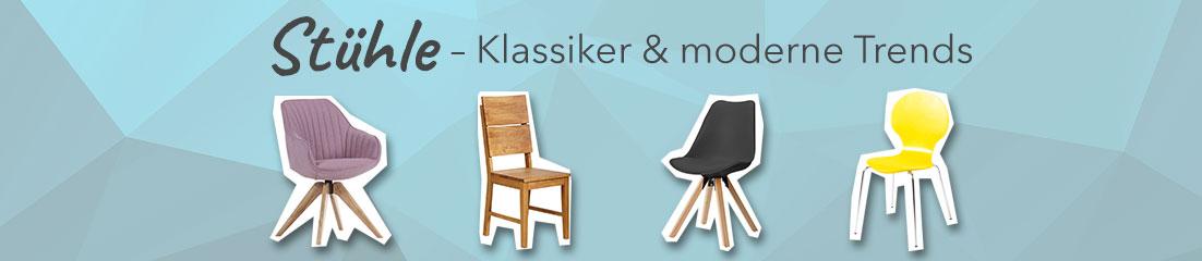Stühle: Klassiker & moderne Trends