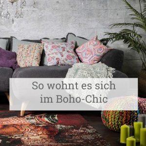 So wohnt es sich im Boho-Chic