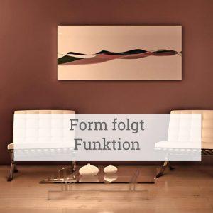 Form folgt Funktion