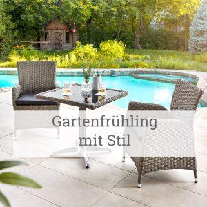 Gartenfrühling mit Stil