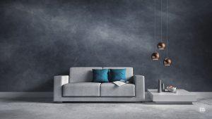 Grau und Beton