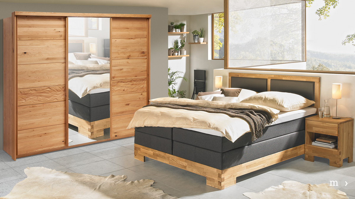 Linea Natura Boxspringbett COUNTRY