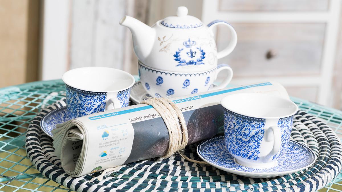 Tea Time im Granny Style: das Esszimmer
