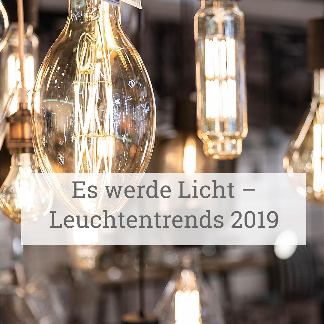 Leuchtentrends – stilvolle Lampen mit großer Wirkung  Zurbrüggen