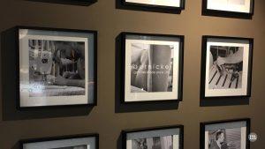 Schwarz-weiße Bilder in modernen Rahmen